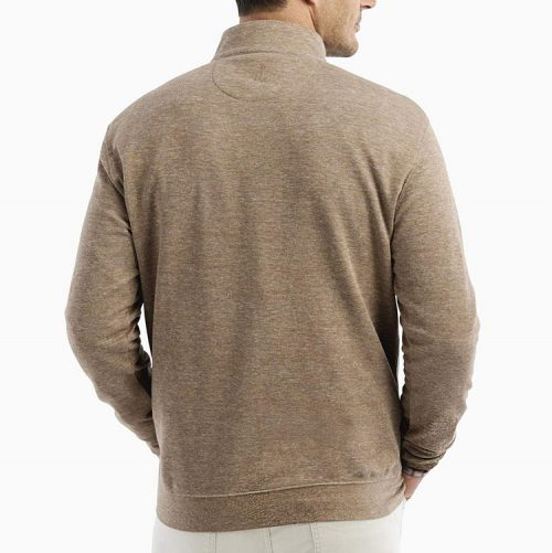 johnnie-o-sully-1-4-zip-pullover-camel Available online or in store at assembly88 men's shop in Allentown, PA