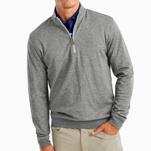 johnnie-o-sully-1-4-zip-pullover-pepper Available online or in store at assembly88 men's shop in Allentown, PA