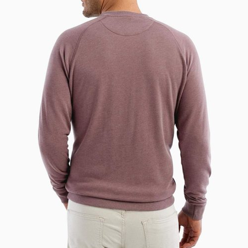 johnnie-o-pamlico-sweatshirt-rosewood Available online or in store at assembly88 men's shop in Allentown, PA